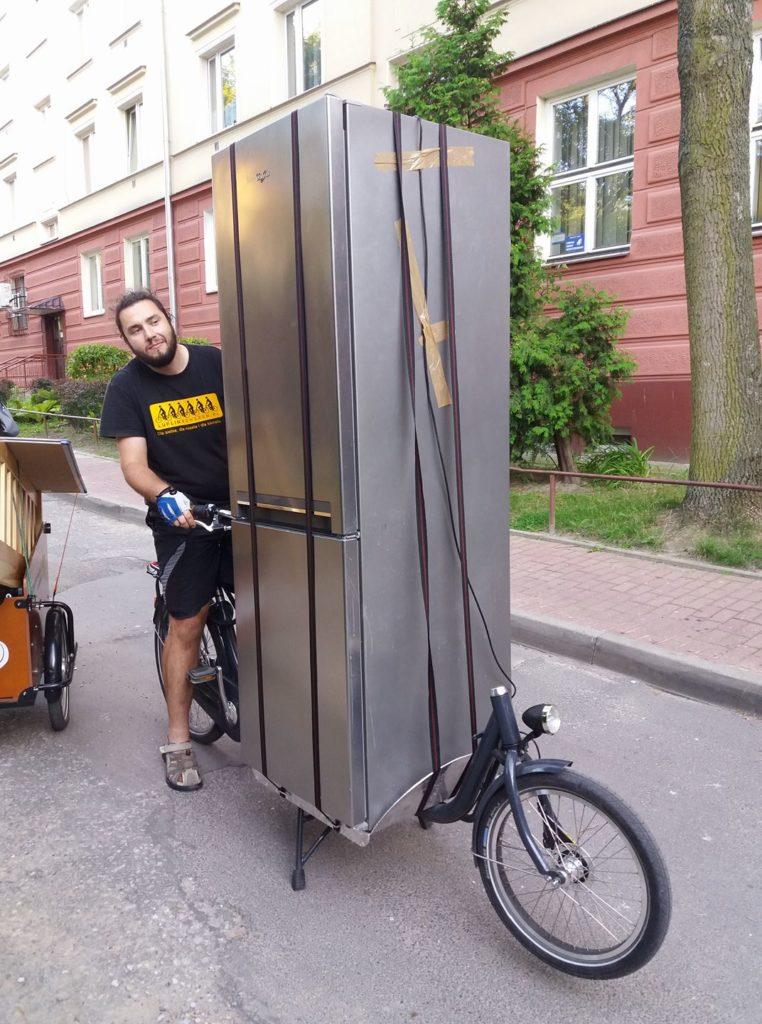 lodówka na rowerze cargo